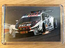 DTM various Cars & Drivers ~ Mercedes Benz / Audi / BMW ~ Fridge Magnet / Frame