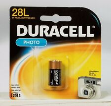 "NEW! ""DURACELL"" 6 volt Lithium Photo Camera Battery 28L, 2CR11108, L544, PX28L"