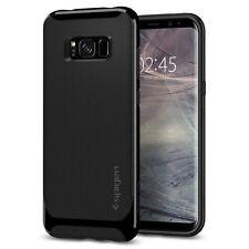 Spigen Samsung Galaxy S8 Neo Hybrid Shockproof Slim Bumper TPU Case Cover Shiny Black
