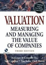 Valuation: Measuring and Managing the Value of Companies, Third Edition with C..