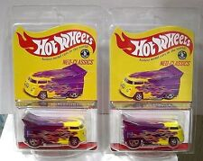 2016 HOT WHEELS RLC NEO CLASSICS VW DRAG BUS LOT OF 2 (#6602/7500 #7100/7500)