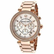 Michael Kors MK5491 Rose Gold Parker Chronograph Ladies Watch