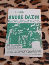 Dépliant - Cinéma André Bazin 1975 : Les Valseuses de Bertrand Blier