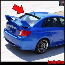 (380R) Subaru Impreza 4 dr 2007-2011 Rear Roof Spoiler Window Wing