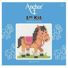 Pony Counted Cross Stitch - Anchor 1st Kit