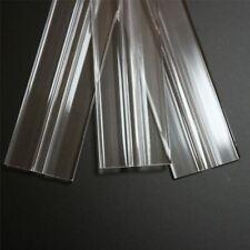 3 x 300 mm basso profilo flex cerniere, flessibile LIVING cerniere, plexiglass, trasparenti