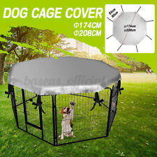 Us Dog Crate Cover Waterproof Windproof Cat Pet Kennel Shade For 24'' Cage Crate