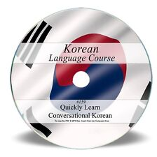 LEARN TO SPEAK KOREAN - LANGUAGE COURSE - 43 HR AUDIO MP3 & 4 BOOKS ON DVD 159