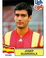 PANINI WORLD CUP USA 94 FIGURINA N. 195 JOSEP GUARDIOLA (ESPANA) ROOKIE
