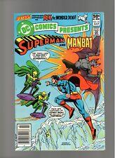 DC COMICS PRESENTS # 35   ( 1980 )    MANBAT!   DC COMICS   SHARP COPY!