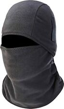 Thermal Ski Mask Full Face Cover Winter Fleece Warm Balaclava Windproof Hinged