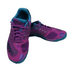 INOV-8 F-Lite 235 Standard Fit Running Shoes Women Size 6.5 Purple Pink Lace-Up