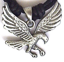 AMERICAN EAGLE PEWTER PENDANT MENS BOYS WOMENS GIRLS NECKLACE P0098