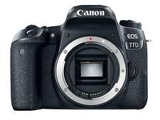 Canon EOS 77d DSLR Digitalkamera (Body Only) - Schwarz