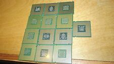 10.4 Oz  No Pin Processor Scrap Gold CPU Recovery Salvage Parts