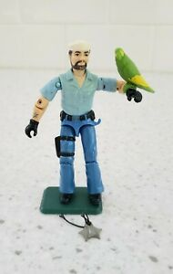 Vintage 1985 GI Joe Shipwreck Sailor Action Figure with Parrot -hasbro