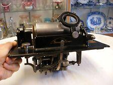Original Edison Standard Cylinder Phonograph - Slotted Crank Mechanism