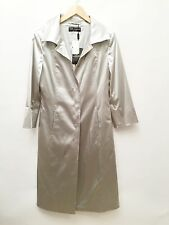 NWT Dolce And Gabbana Size 44 Silver Jacket And Skirt