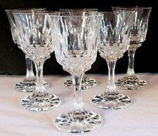 6 verres à pied cristal VB Villeroy et Boch glass (1)