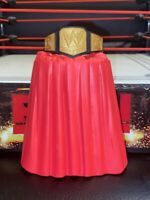 WWE CHAMPIONSHIP BELT MATTEL FOR WRESTLING FIGURES WITH PODIUM STAND
