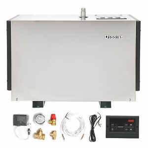 9KW Steam Generator Steam Bath Automatic Descaling Anti‑Rupture Water Tank 380V