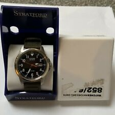 Boxed Citizen Eco Drive WR100 Mens Watch With Day And Date E101-S006597