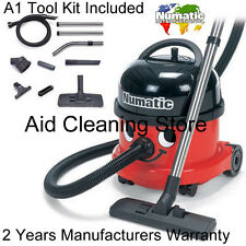 Numatic Henry Hoover Industrial Commercial Vacuum Cleaner 240V NRV200 Red