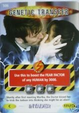 DR WHO INVADER CARD 506 GENETIC TRANSFER  - MINT !!