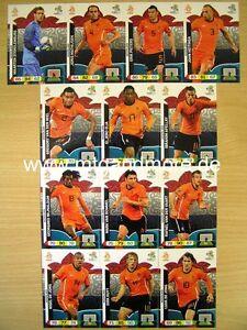 Adrenalyn XL EURO EM 2012 - Niederlande / Holland Karte aussuchen