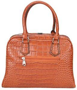 Ladies Genunie Leather Grab BAG Sofia Fashion Charm Bag GIFT Classic Patent