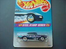 HOT WHEELS #290 '57 CHEVY WITH UH RIMS STEEL STAMP SERIES #4 OF 4 FREE USA SHIP