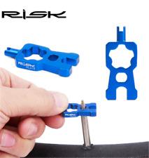 Risk tool Bike Bicycle Schrader Presta Valve Core Installation Valve Nut Removal