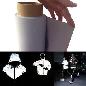1m x 1m foglio da cucire in materiale che riflette la luce,da ritagliare EN471