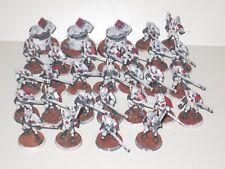 Warhammer 40K Tau Fire Warriors x30 DS8 Turrets x3 Pro Painted Vior'la Sept 6278