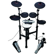 Carlsbro Compact 9-Piece Electronic Drum Kit Set With Digitron Display CSD130