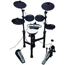 Carlsbro Compact 9-Piece Electronic Drum Kit Set With Digitron Display CSD130