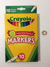 Crayola 10ct Classic Fine Line Markers (Set of 2) - 20 Markers