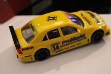 Ninco 50107 slot car Mercedes AMG C-Klasse 15 amarillo MB en papel caja New