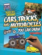Cars, Trucks, and Motorcycles You Can Draw (Ready, Set, Draw!)-ExLibrary