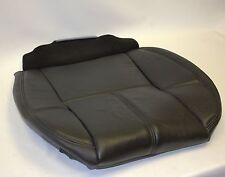 2007 to 2014 Chevy Tahoe Yukon Suburban  Driver Bottom Vinyl Seat Cover Black