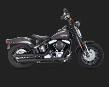 Vance & Hines TWIN ou Slip-Ons noir, f. Harley-Davidson FLST, FLS 07-16