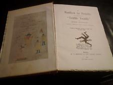 "George Cruikshank 1895 #6 of 200 A Handbook For Posterity ""Twid 000057B9 dle Twaddle illus"