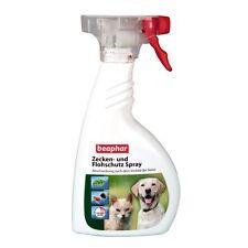 Beaphar-Zecken-und Flohschutz Spray-400ml-Flöhe Grasmilben Hunde Katze Flohspray
