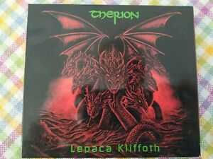 THERION- LEPACA KLIFFOTH - DIGIPACK CD - USATO BUONE CONDIZIONI
