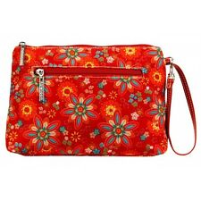 Diaper Clutch with Changing Pad By Kalencom-Nylon-Primavera Floral