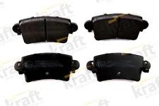 Bremsbelagsatz, Scheibenbremse für Bremsanlage KRAFT AUTOMOTIVE 6011900