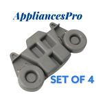 Whirlpool Dishwasher Lower Dishrack Wheel W10195416V W10195416 Set of 4 photo