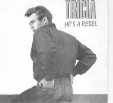 """He's A Rebel 7"""" (UK 1989) : Tricia"""