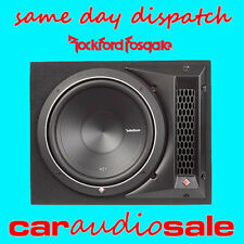 CAR / VAN BASS BOX WITH SUB PUNCH 12 INCH ENCLOSURE SINGLE SUB AND BOX PACKAGE