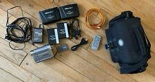 Canon Elura 100 Mini-Dv Camcorder with Case, Cables and Accessories